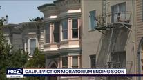 California's eviction moratorium expires soon