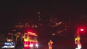 Neighbors suspect arson is behind 15 spot fires in Healdsburg