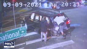 Oakland family lucky to be alive after being hit by DUI suspect