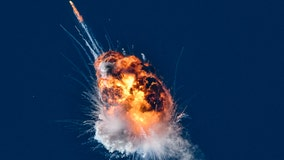 Rocket destroyed in explosive fireball off Central California coast