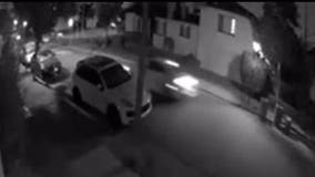 Video shows driver plowing through Alameda stop sign