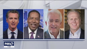 California recall candidates make one last push for votes