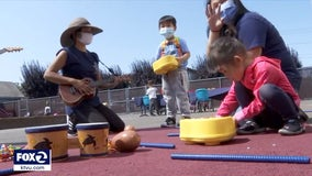Experts say young children need to interact in-person with others for growth and development