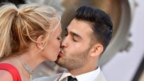 Britney Spears announces engagement to boyfriend Sam Asghari flashing 'one of a kind ring'