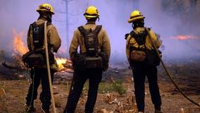 COVID-19 sidelines 16 firefighters battling Caldor Fire