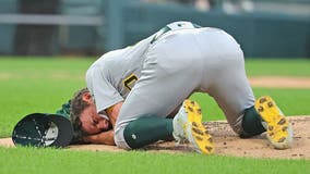 Bassitt to start for A's, 5 weeks after being hit in head