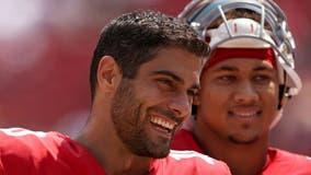 Jimmy G is back as starter for 49ers despite Trey Lance threat