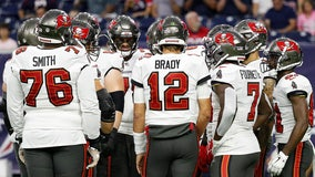 Tampa Bay Buccaneers are '100-percent vaccinated' against COVID-19, head coach Bruce Arians says
