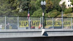 Man assaulted during pro-Newsom recall rally in San Rafael