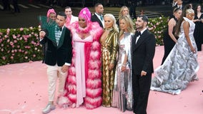 Met Gala returns with star power after pandemic delay