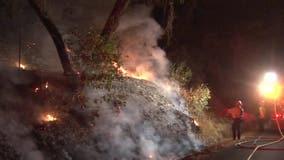 Suspicious overnight fires spark arson investigation in Healdsburg