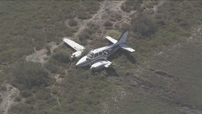 Plane crashes in Palo Alto after striking power lines