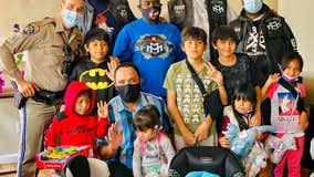 Oakland community leaders bring gifts, visit kids injured in high speed DUI crash