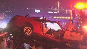 Driver held on suspicion of DUI in deadly wrong-way crash on I-80 near Bay Bridge
