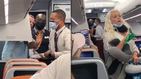 Couple kicked off JetBlue flight for failing to comply with mask rules, berating crew