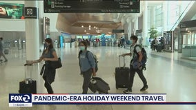 Holiday travelers have Bay Area airports slightly busier than usual, still below pre-pandemic levels
