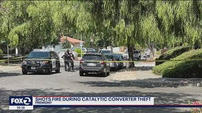 Man confronts catalytic converter thieves in Fremont, gets shot at