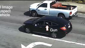 Video shows occupants of vehicle firing upon another vehicle; San Pablo police investigating