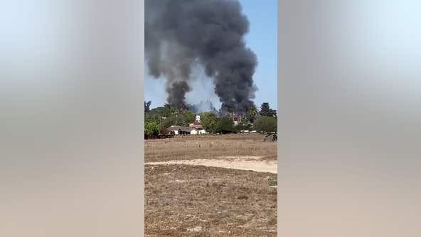 Structure fire in Petaluma forces evacuations