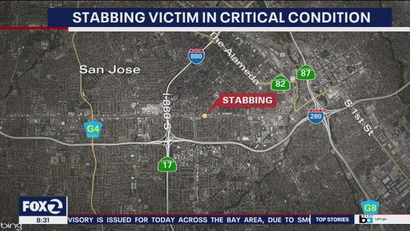 Man suffers life-threatening wounds in San Jose stabbing