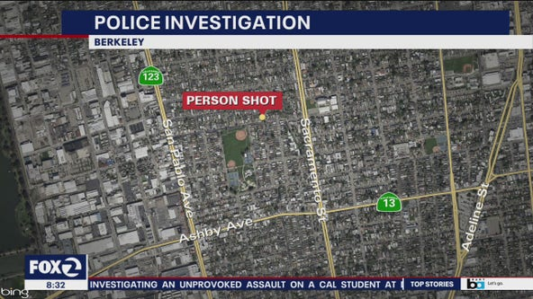 1 person wounded in Berkeley shooting near San Pablo Park
