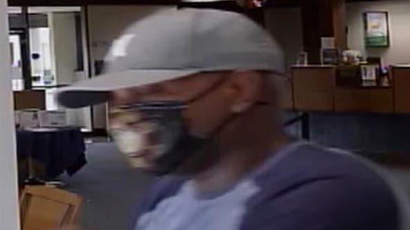 Santa Rosa police seek bank robbery suspect