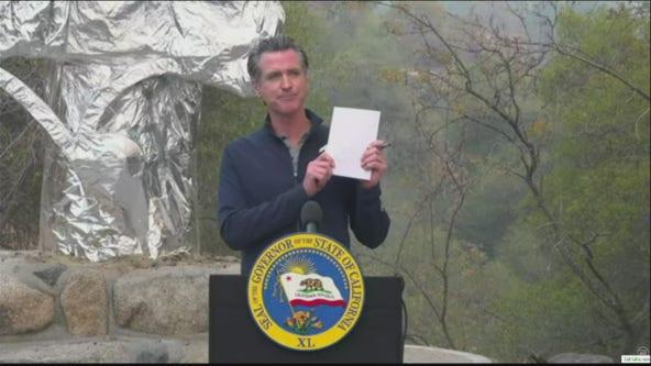 Newsom signs $15B climate bill to 'future proof' California