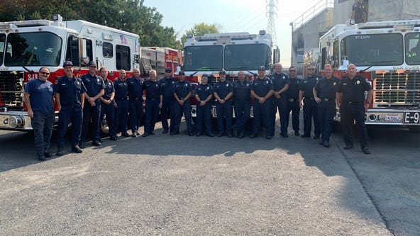 2 teams of Bay Area firefighters deployed to Fawn Fire