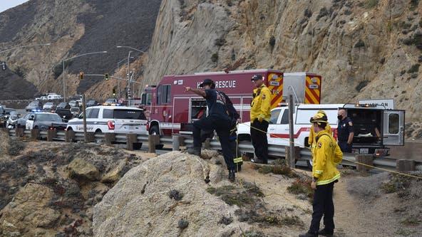 Man dies after vehicle goes over cliffside near Devils Slide stretch of Highway 1