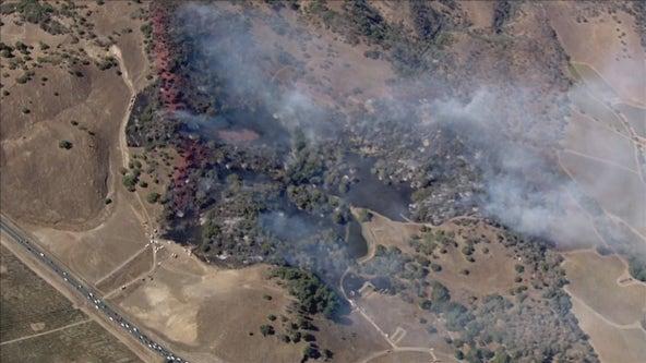 Crews responding to vegetation fire near Schellville in Sonoma County