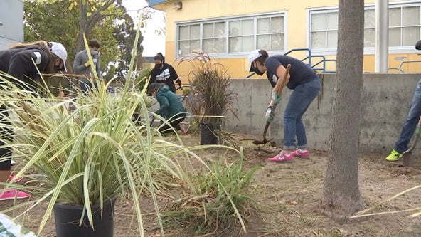 Olympic gold medalist Kristi Yamaguchi hosts 'Day of Service' in San Pablo