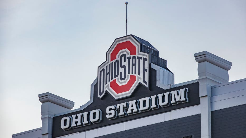 The Ohio State University logo at the top of the Ohio
