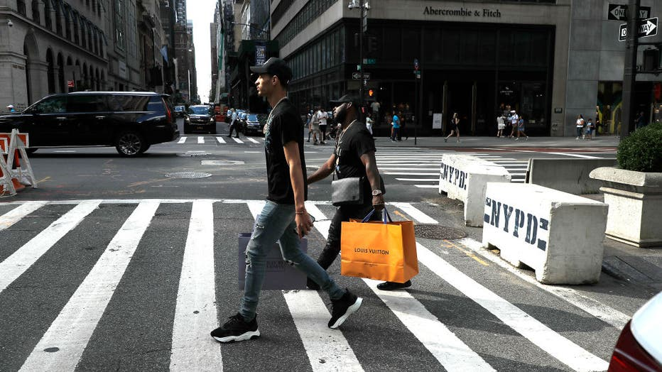 New Yorkers Celebrate Labor Day Weekend