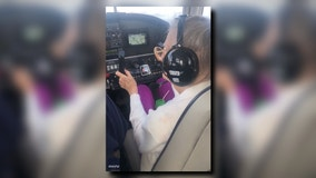 Ex-pilot with Parkinson's, 84, flies one more time over fall foliage