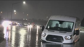 Flooding turns I-880 into 'Lake Fremont' as storm moves toward South Bay