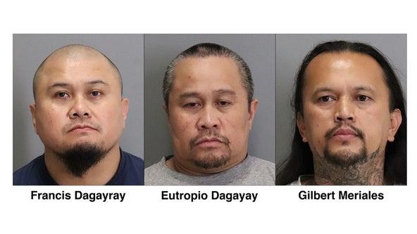3 men arrested in deadly 2001 San Jose stabbing