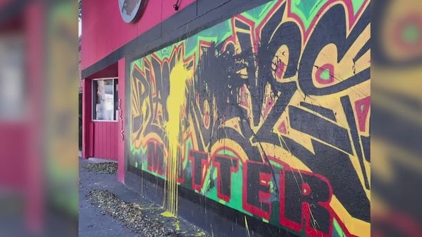 Sacramento racial justice mural defaced in possible hate crime