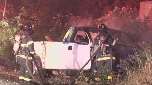 Wrong-way crash in San Jose sends 2 to hospital