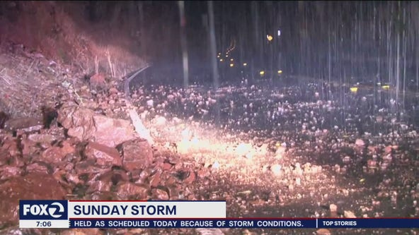 It's here: Atmospheric river creates treacherous conditions in the Bay Area