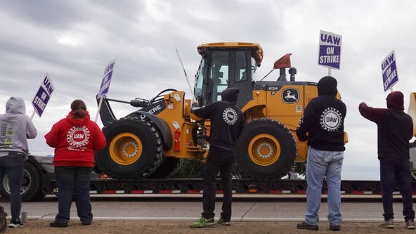 Farmers and Deere & Co. suppliers worry about prolonged strike