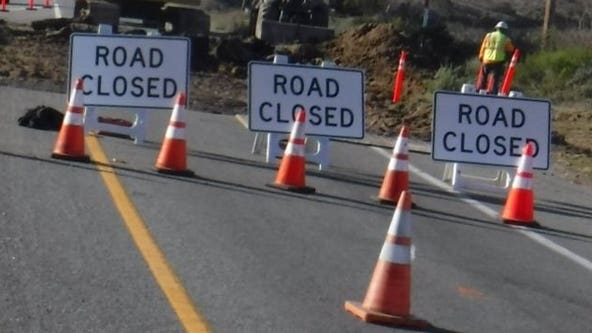 Rockslide on California central coast shuts down stretch of Highway 1