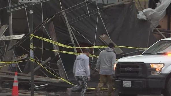 Power outages, flooded roads, toppled trees: storm does number on Bay Area