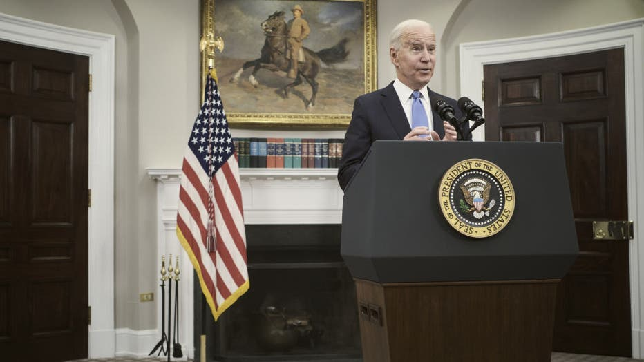 President Biden Delivers Remarks On Colonial Pipeline