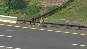 2 workers injured by downed wires on Garden State Parkway