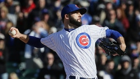 Cubs closer Morrow goes on DL after hurting back removing pants
