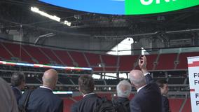 FIFA World Cup Bid Evaluation team tours Atlanta