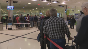 Passengers dealing with long lines at Hartsfield-Jackson's TSA checkpoints