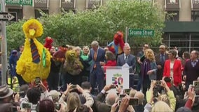 Sesame Street is now an official place in Manhattan