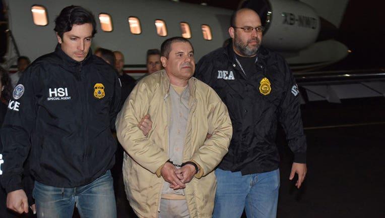 Joaquin El Chapo Guzman United States custody-402970-402970
