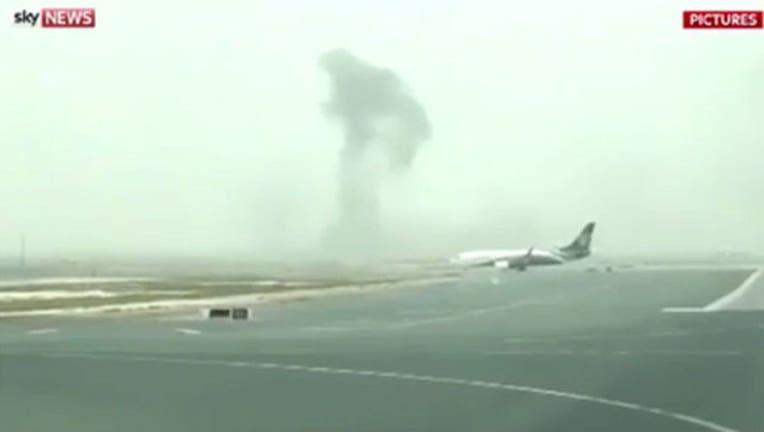 Emirates Plane 'Incident' in Dubai, 1-402970